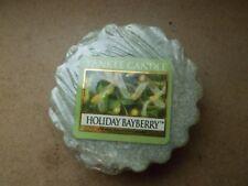 Yankee Candle Usa Rare Holiday Bayberry Wax Tart