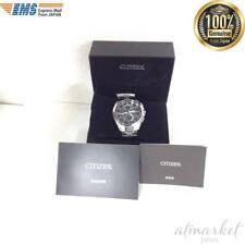 Citizen Watch Attesa AT8040-57E Eco-Drive Atomic Radio JAPAN import EMS
