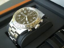 GLYCINE STRATOFORTE AUTOMATIC CHRONOGRAPH WATCH SWISS MADE
