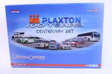 Corgi Classics #OM49901 - Plaxton Bus Set - Centenery - A+/A+