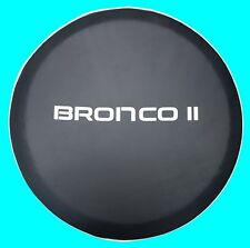 SpareCover® ABC Series - FORD BRONCO II mod 27 Black Heavy Duty Vinyl Tire Cover