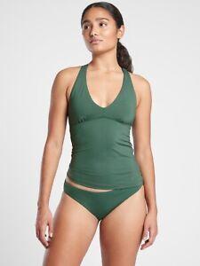 Athleta Women's Amazon Green Plunge Tankini Swim Top A-C NWT Various Sizes