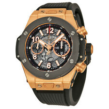 Hublot Big Bang Unico King Gold Ceramic Skeletal Dial Mens Watch 411.OM.1180.RX