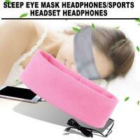 Komfort Anti Noise Schlafen Kopfhörer Stirnband Maske für Samsung Z9P3 P8J1