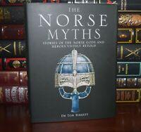 Norse Myths & Tales Mythology Vikings Warriors Gods Illustrated New Hardcover
