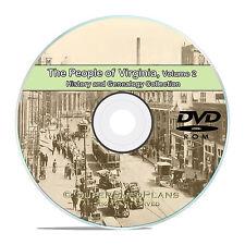 Virginia VA Vol 2 Cities Family Tree History & Genealogy 150 Books DVD CD B50