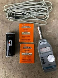 Simpson Guitar Sound Decibel Meter and Calibrator 886 890