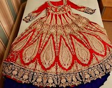 bridal lengha dress with trail LATEST DESIGN