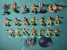 CATACHAN  ARMY WELL PAINTED Imperial Guard