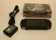 Sony PSP 3001 Playstation Portable System Console Bundle Lot Games Works