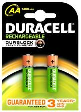 batteries mignon battery AA Duracell rechargeable mAh 1300