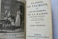 Comte de Valmont ou lest Egarements de la Raison 1807