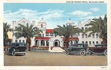 Texas postcard McAllen Casa de Palmas Hotel