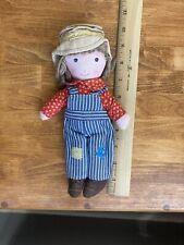 Vintage 1970 Knickerbocker Holly Hobbie 9� Doll Collection: Rare Robbie Hobby