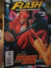The Flash #10  (Fastest Man Alive) 2007  Dc Comic Book
