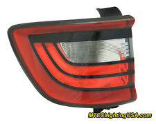TYC Left Outer Side Tail Light Lamp Assembly for Dodge Durango 2014-2015