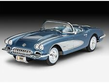 CORVETTE ROADSTER  1958 - Kit REVELL 1/25 n° 07037