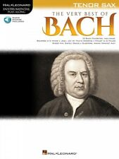 The Very Best of Bach Instrumental Play-Along for Tenor Sax Instrument 000225374