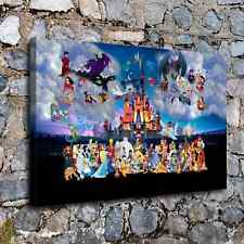 """16""""x24""""Disney HD Canvas prints Painting Home Decor Picture Room Wall art Poster"""