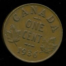 1935 Canada King George V, Small Cent, EF