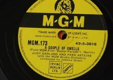 78rpm JUDY GARLAND & FRED ASTAIRE couple of swells / easter parade selection