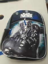 Nwt Marvel Black Panther 16 Inch Book Bag Reflective Strips