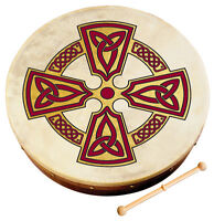 "WALTONS 8"" KILKENNY CROSS Bodhran (10AWAL-2511) Irish Ireland Drum"