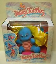 #14 NRFB Vintage Hasbro Topsy Turtles Airplane Allie Plush Turtle