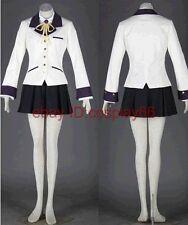 anime ANGEL BEATS Tachibana Kanade cosplay costume any size custom