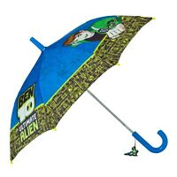 Official Ben10 Alien Force Fibreglass Umbrella Rain Brolly Children's Kids Boys