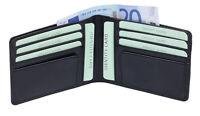 Kreditkartentasche Kreditkartenmappe Hülle LEAS Echt-Leder, Portemonnaie