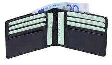Kreditkartentasche Kreditkartenmappe Kreditkartenhülle LEAS Echt-Leder,