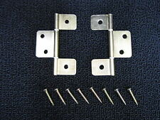 Mobile Home RV Parts Interior Door Hinges Package of 6 Non-mortise Brass Finish