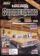 OFFICIAL Street Machine SUMMERNATS 21 DVD! V8s Burnouts
