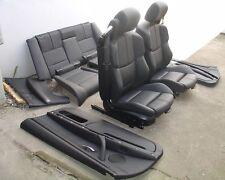 Inkl UMBAU BMW E93 M3 Cabrio Lederausstattung schwarz Sitze Innenausstattung