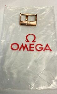 Rose Gold genuine Omega 18 mm Stainless Steel Buckle 94511604
