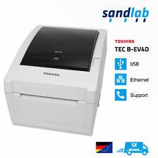 TOSHIBA TEC B-EV4D Thermodirekt Etikettendrucker Labelprinter DHL EasyLog UPS