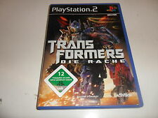 PlayStation 2  PS 2  Transformers: Die Rache