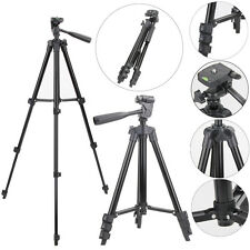 Digital Camera Camcorder Tripod Stand 3-section Leg Quick release fr Canon Nikon