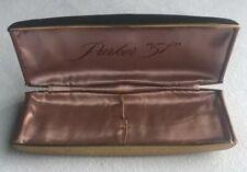 Vintage Parker 51 Fountain  Pen & Pencil Case