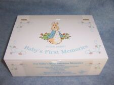 1999 Peter Rabbit- Baby's First Memories Boxed set by Eden #30118