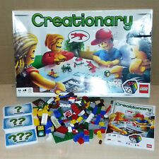 LEGO GAME - 3844 - CREATIONARY - COMPLETE, GREAT CONDITION, RARE + DISCONTINUED