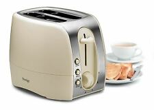 Prestige® 2 Slice Toaster 6 Browning Control Defrost & Reheat Button Cream New