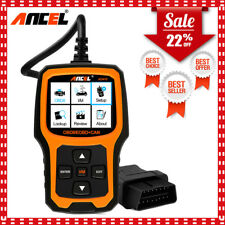 Ancel AD410 OBDII Code Reader Check Engine Light Auto Scanner I/M Readiness US