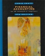 Financial Accounting in an Economic Context, Jamie Pratt, Good Book