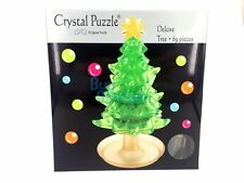 DIY 3D Crystal Puzzle Jigsaw 69 pieces Toy Decoration Deluxe Christmas Xmas Tree