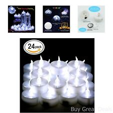 LED Tea Lights Candles Battery Powered Small Bright Flickering Flameless Candles