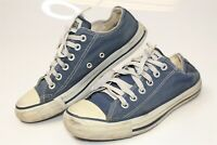 Vintage USA Made Converse Chuck Taylor All Star Blue Canvas Low Top Mens 5 Shoes