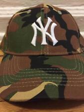 BUDWEISER CAP HAT MILITARY CAMO NY NEW YORK YANKEES CAMOUFLAGE 2017 7/29/17 SGA