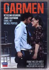 DVD BIZET: CARMEN Vesselina Kasarova Jonas Kaufmann Michele Pertusi WELSER-MÖST